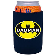 Load image into Gallery viewer, full bottom can koozie with dadman design