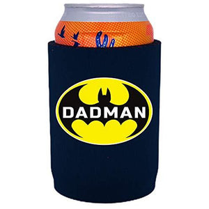 full bottom can koozie with dadman design