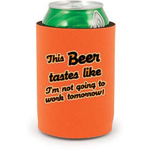 Load image into Gallery viewer, This Beer Tastes Like. Full Bottom Can Coolie
