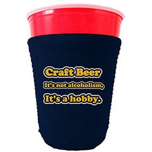 Load image into Gallery viewer, Craft Beer Alcoholism Party Cup Coolie