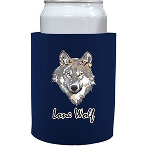 "Lone Wolf Thick Foam""Old School"" Can Coolie"