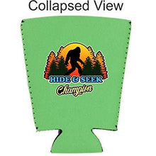 Load image into Gallery viewer, Bigfoot Hide & Seek Champion Pint Glass Coolie