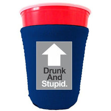 Load image into Gallery viewer, Drunk and Stupid Party Cup Coolie