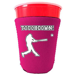 Touchdown Baseball Party Cup Coolie