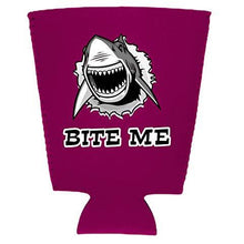 Load image into Gallery viewer, Bite Me Shark Pint Glass Coolie
