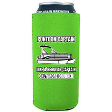 Load image into Gallery viewer, Pontoon Captain 16 oz. Can Coolie