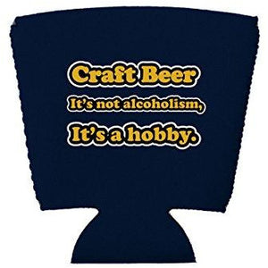 Craft Beer Alcoholism Party Cup Coolie