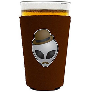 Alien in Disguise Pint Glass Coolie