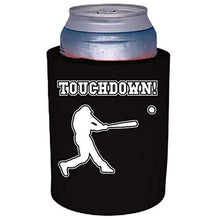 "Load image into Gallery viewer, Touchdown Baseball Thick Foam""Old School"" Can Coolie"