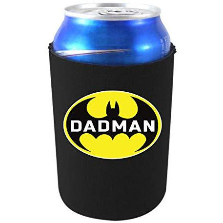 can koozie with dadman design