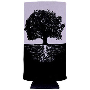 Tree of Life Roots Slim Can Coolie