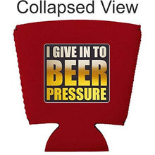 Load image into Gallery viewer, Beer Pressure Party Cup Coolie
