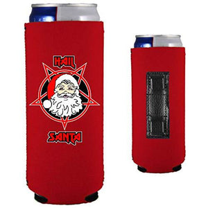 Hail Santa Magnetic Slim Can Coolie