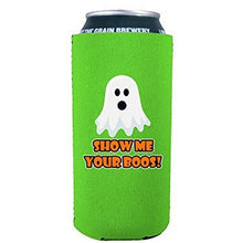 Load image into Gallery viewer, Show Me Your Boos! 16 oz. Can Coolie