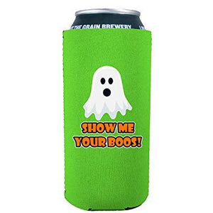Show Me Your Boos! 16 oz. Can Coolie