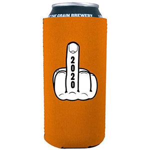 2020 Middle Finger 16 oz Can Coolie
