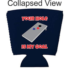Load image into Gallery viewer, Your Hole Is My Goal Party Cup Coolie