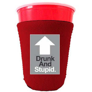 Drunk and Stupid Party Cup Coolie