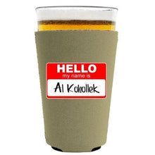 Load image into Gallery viewer, Al Kohollek Pint Glass Coolie