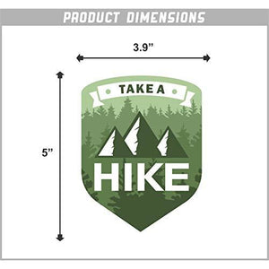 Take a Hike Vinyl Sticker