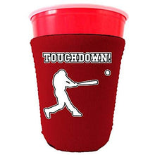 Load image into Gallery viewer, Touchdown Baseball Party Cup Coolie