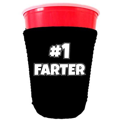 #1 Farter Neoprene Collapsible Party Cup Coolie