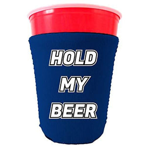 Hold My Beer Party Cup Coolie