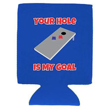 Load image into Gallery viewer, Your Hole Is My Goal Magnetic Can Coolie