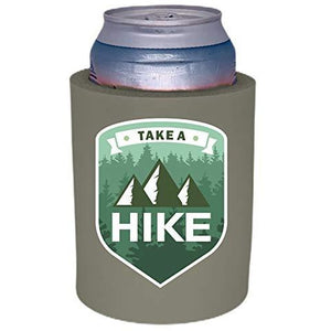 "Take A Hike Thick Foam""Old School"" Can Coolie"