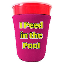 Load image into Gallery viewer, I Peed in the Pool Party Cup Coolie