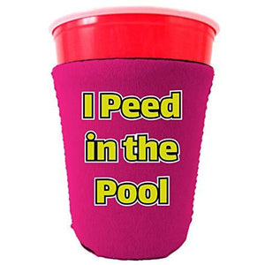 I Peed in the Pool Party Cup Coolie