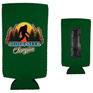 Bigfoot Hide & Seek Champion Magnetic Slim Can Coolie