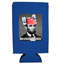 Load image into Gallery viewer, Abraham Drinkin' 16 oz Can Coolie