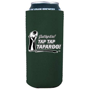 Just Tap It In! Tap Tap Taparoo! Golf 16 oz. Can Coolie