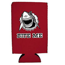 Load image into Gallery viewer, Bite Me Shark 16 oz Can Coolie