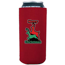 Load image into Gallery viewer, Merry Christmas Reindeer Humping 16 oz. Can Coolie
