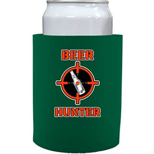 "Beer Hunter Thick Foam""Old School"" Can Coolie"