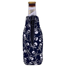 Load image into Gallery viewer, Pirate Pattern Beer Bottle Coolie