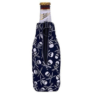 Pirate Pattern Beer Bottle Coolie
