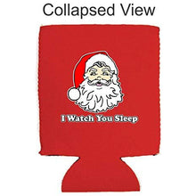 Load image into Gallery viewer, I Watch You Sleep Santa Can Coolie