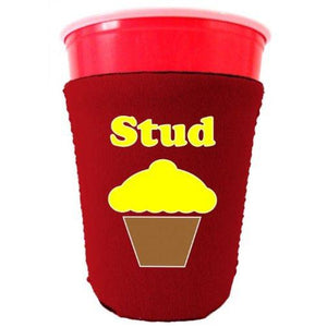 Stud Muffin Funny Party Cup Coolie