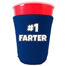 Load image into Gallery viewer, #1 Farter Neoprene Collapsible Party Cup Coolie