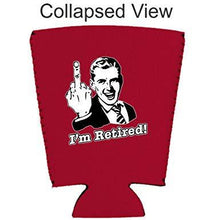Load image into Gallery viewer, I'm Retired Pint Glass Coolie