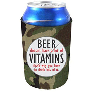 Beer Doesn't Have A Lot of Vitamins Can Coolie