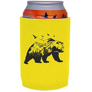 Mountain Bear Full Bottom Can Coolie