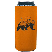 Load image into Gallery viewer, Mountain Bear 16 oz. Can Coolie