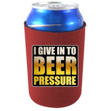 Load image into Gallery viewer, Beer Pressure Can Coolie