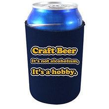 Load image into Gallery viewer, Craft Beer Alcoholism Can Coolie