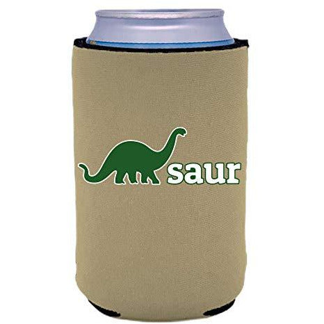 can koozie with dino-saur design