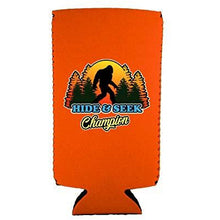 Load image into Gallery viewer, Bigfoot Hide & Seek Champion 12 oz Slim Can Coolie